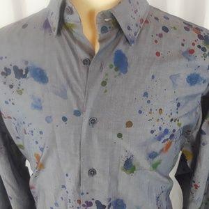 Other - Visconti Signature XLT Shirt Gray Paint Designs
